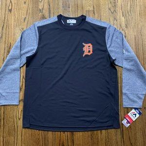 Detroit Tigers MLB Therma Base On Field Sweatshirt